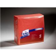 Red flame  2 ply paper dinner napkins 39cm x 39cm - case of 2000